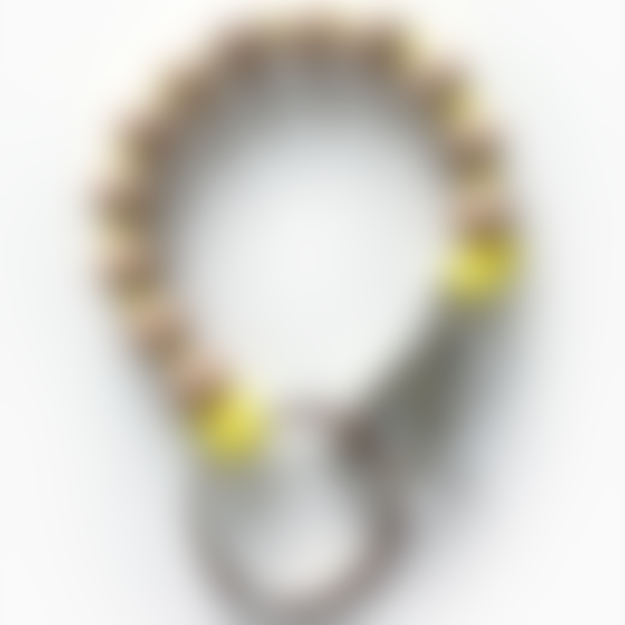 Ina Seifart  Short Wooden Beads Keychain Keyholder