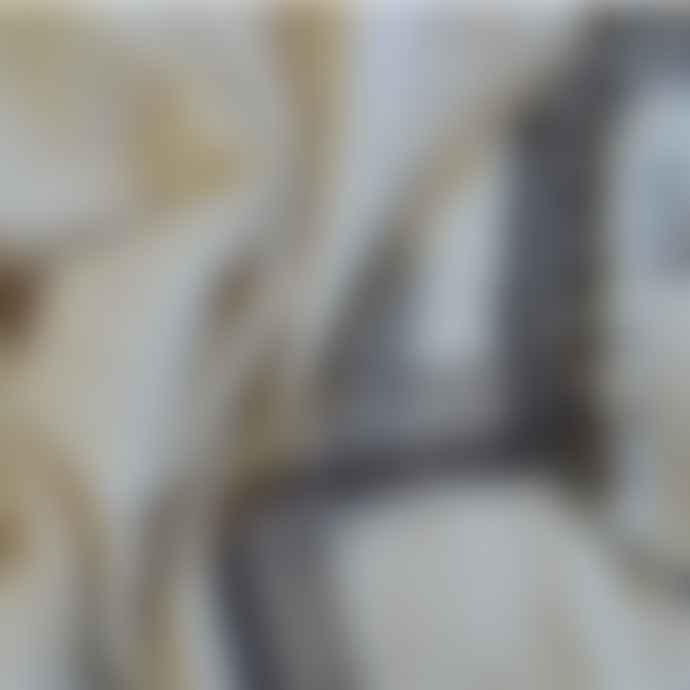 Mahala Cream Grey Wool Handspun Natural Undyed Throw