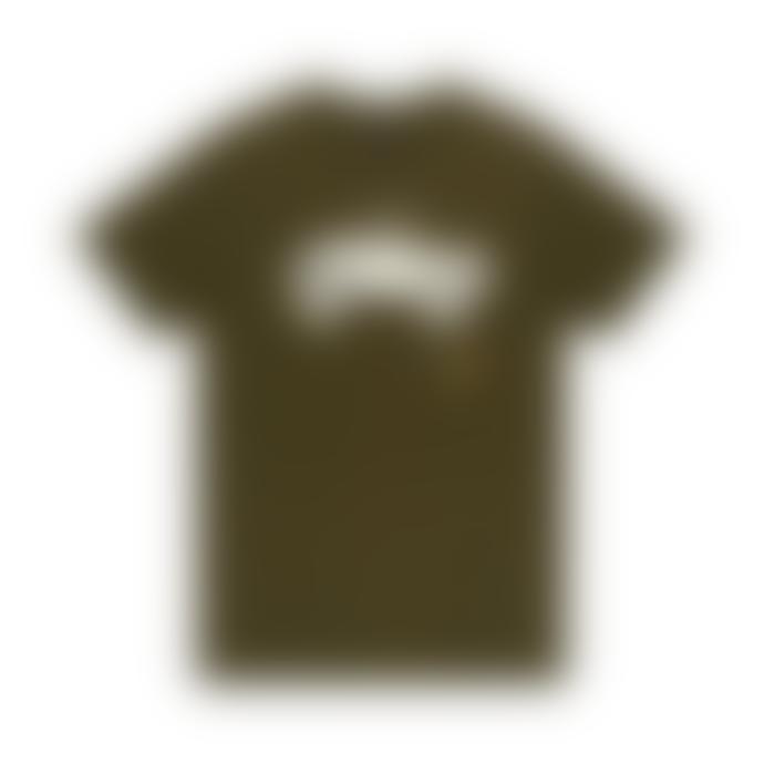 Deus Ex Machina Green Cotton Carby Landie Men's T Shirt