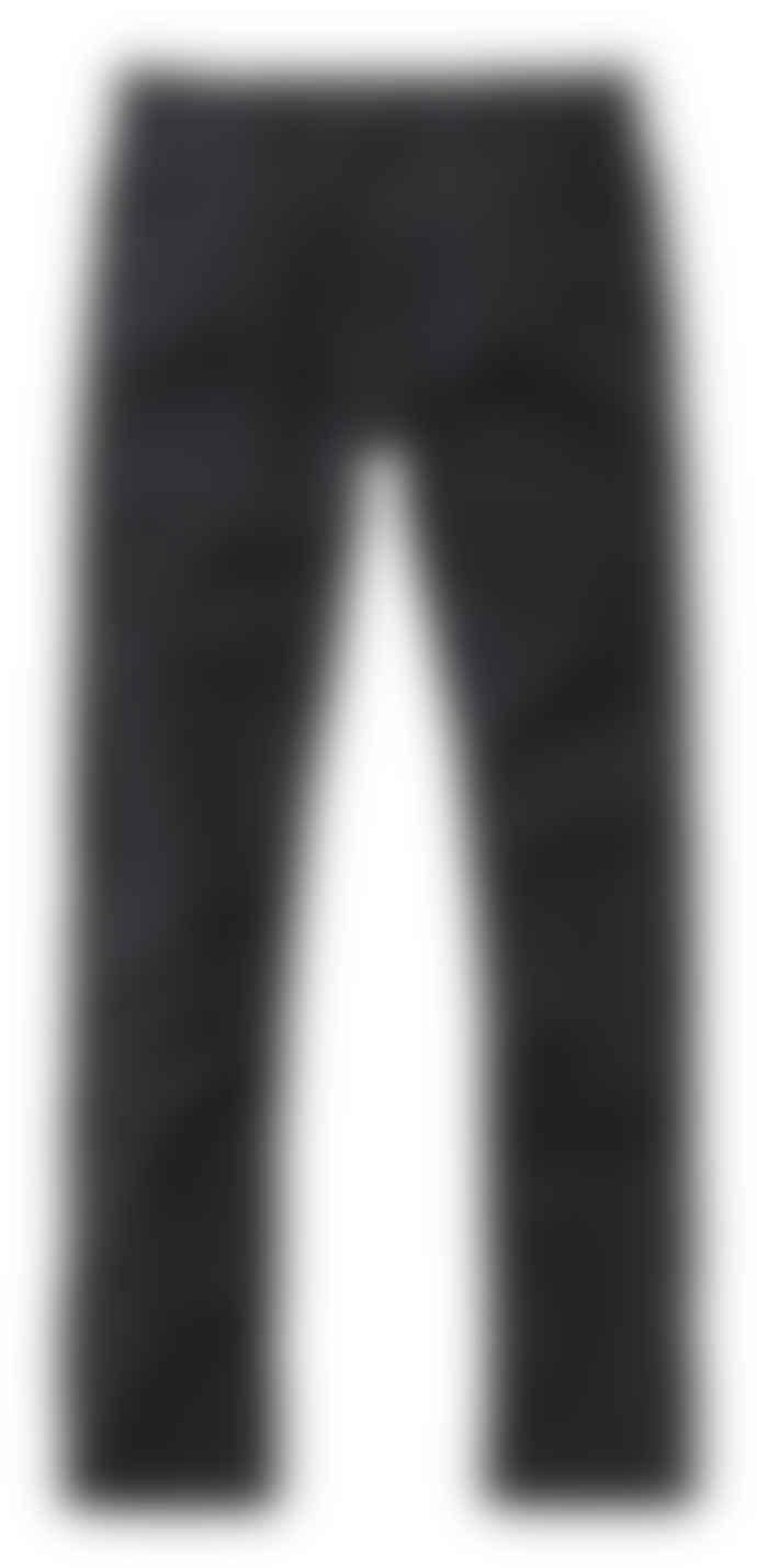 Nudie Jeans Slim Adam Chinos Black