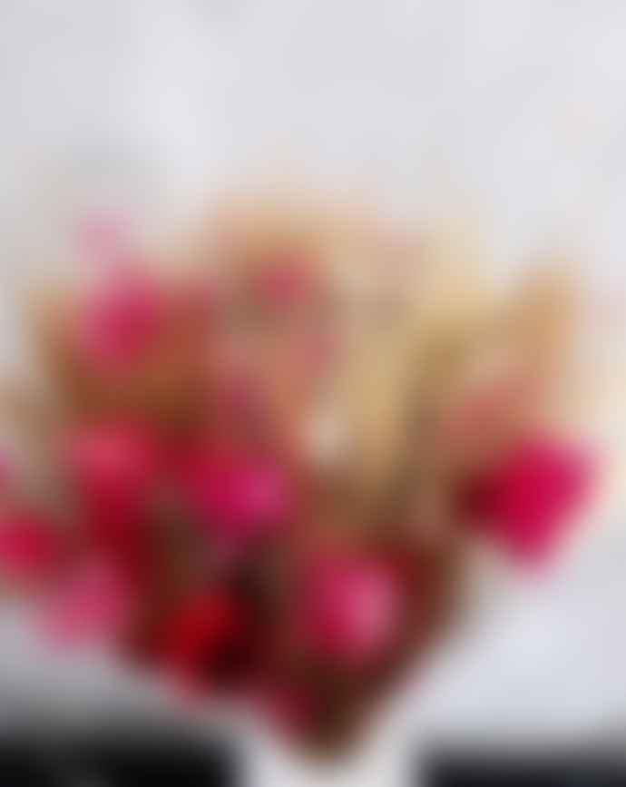 Bouquet of Dried Flowers Pink