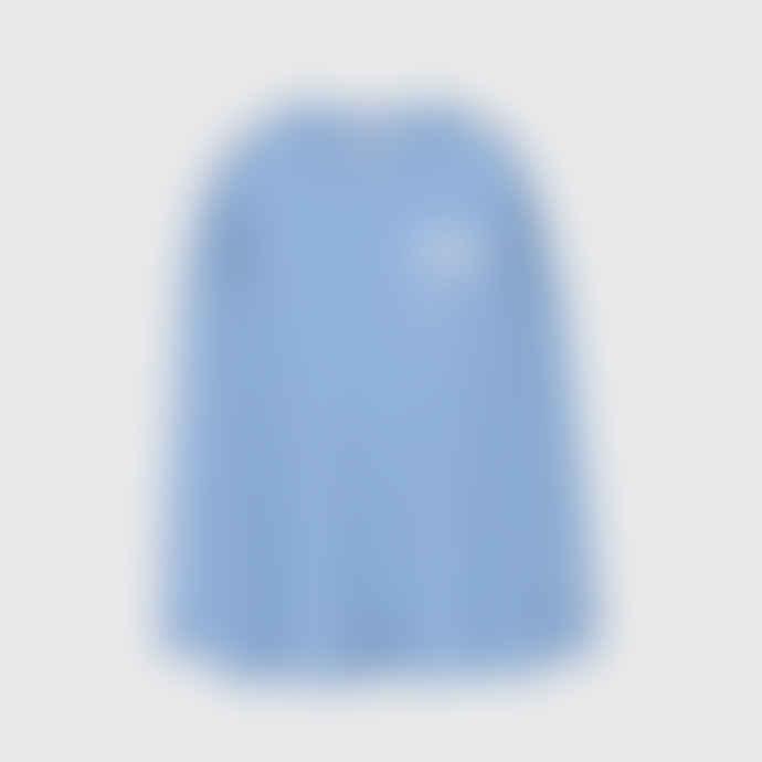 OOF WEAR Oversized Sweatshirt in Light Blue Cotton