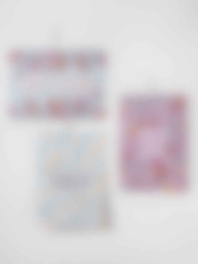 Loretta Cosima Postcard Alles Gute Adalie Floral Set of 10