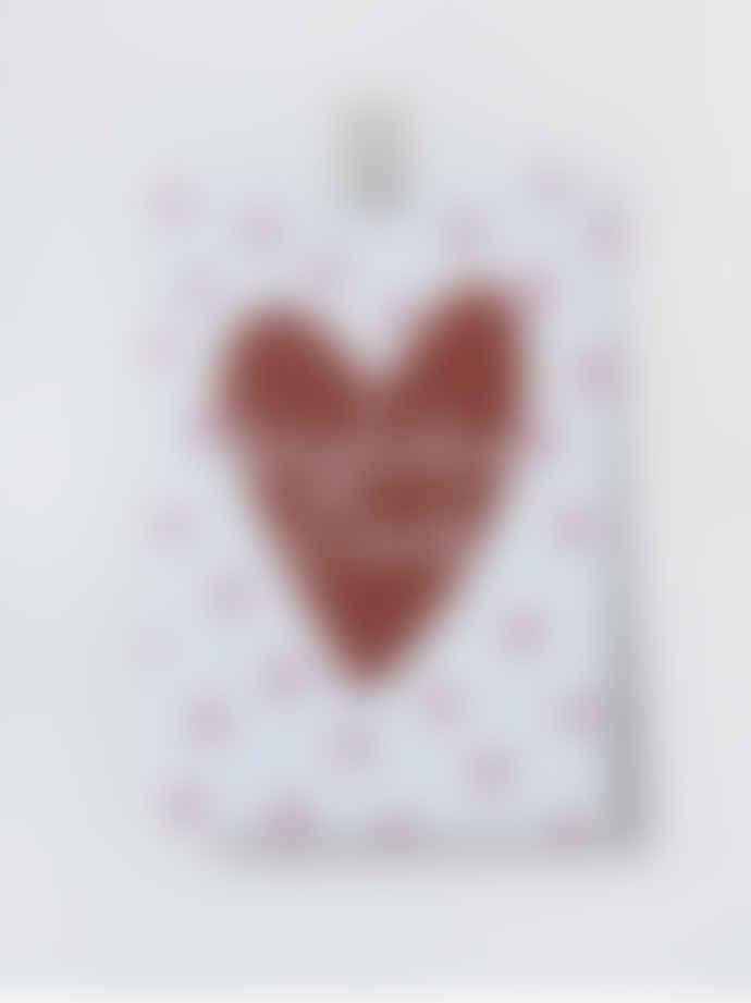 Loretta Cosima Postcard Herzlichen Dank Heart Set of 10