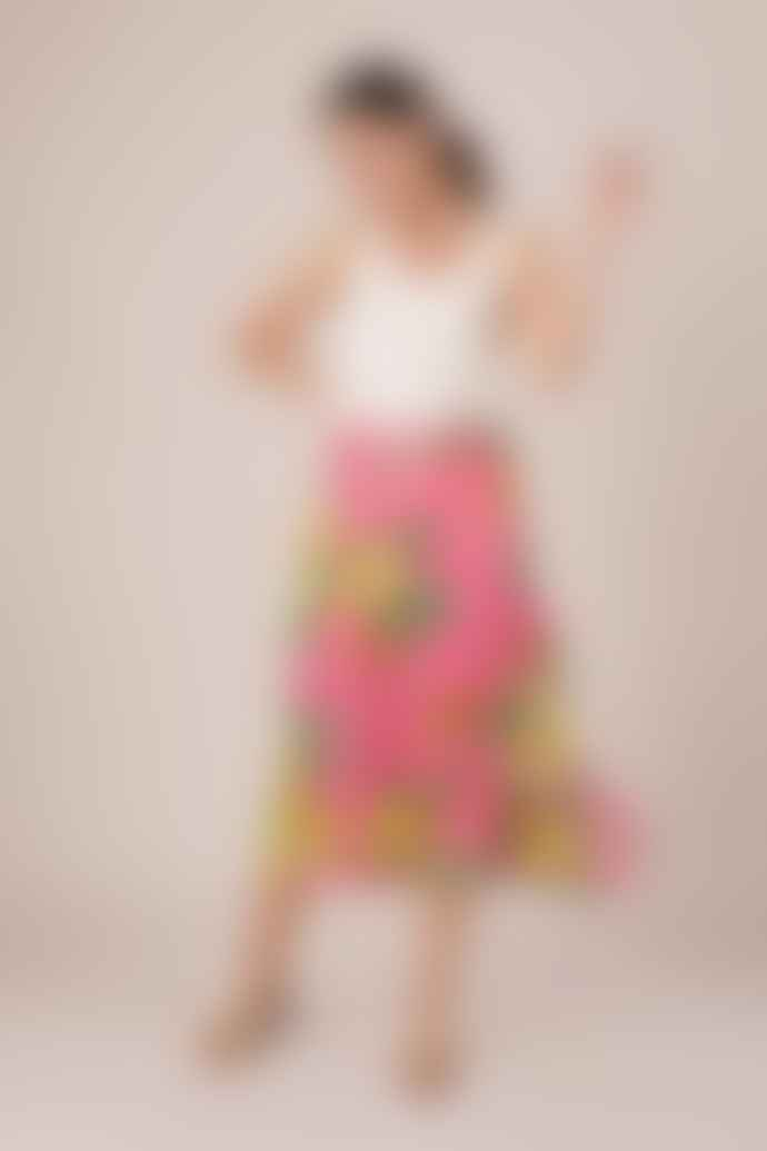 Bailey & Buetow Pink Collette Skirt