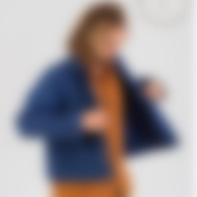 Naz Washed Blue Milfontes Canvas Men's Jacket