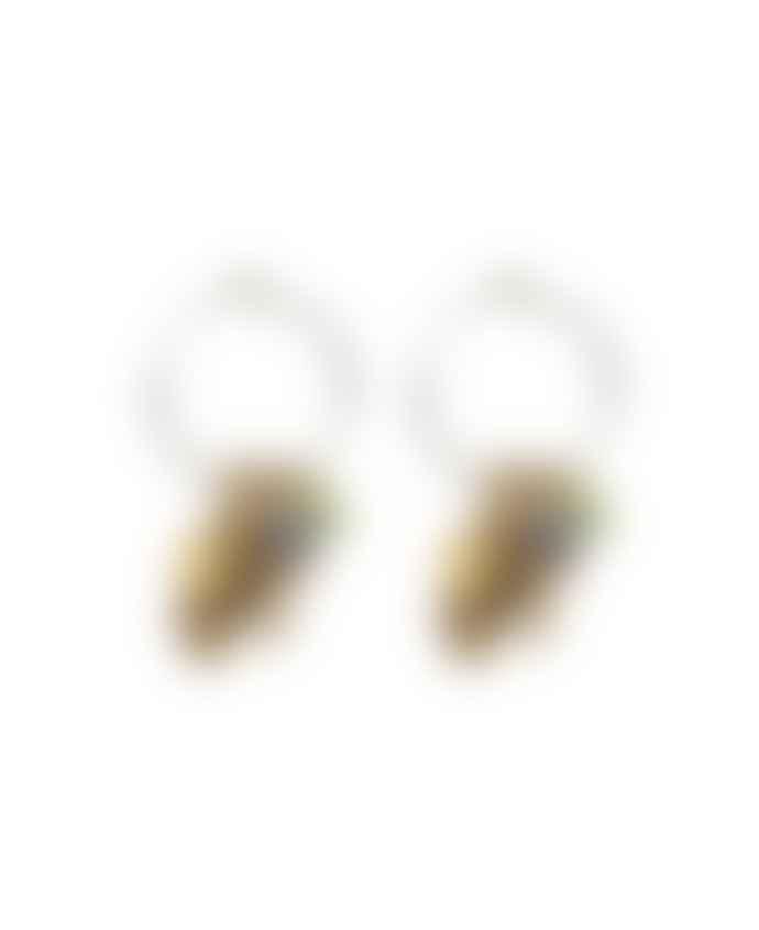 Hultquist-Copenhagen 04566 Bi Hoop Earrings