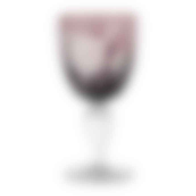 Pols Potten Peony Multicolour Wine Glasses - Set of 6
