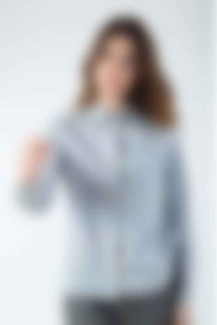 Naz Grey Cotton Cashmere Shirt