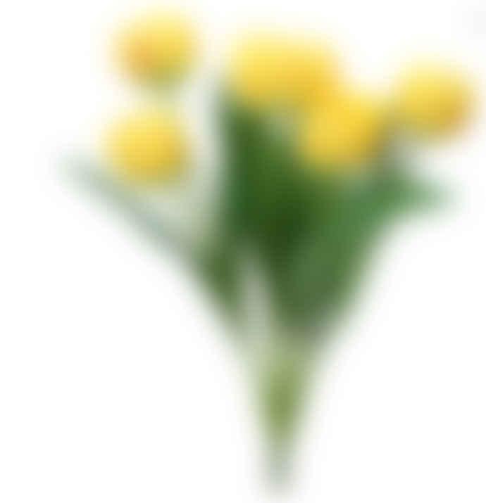 Gisela Graham Yellow Tulip Bunch