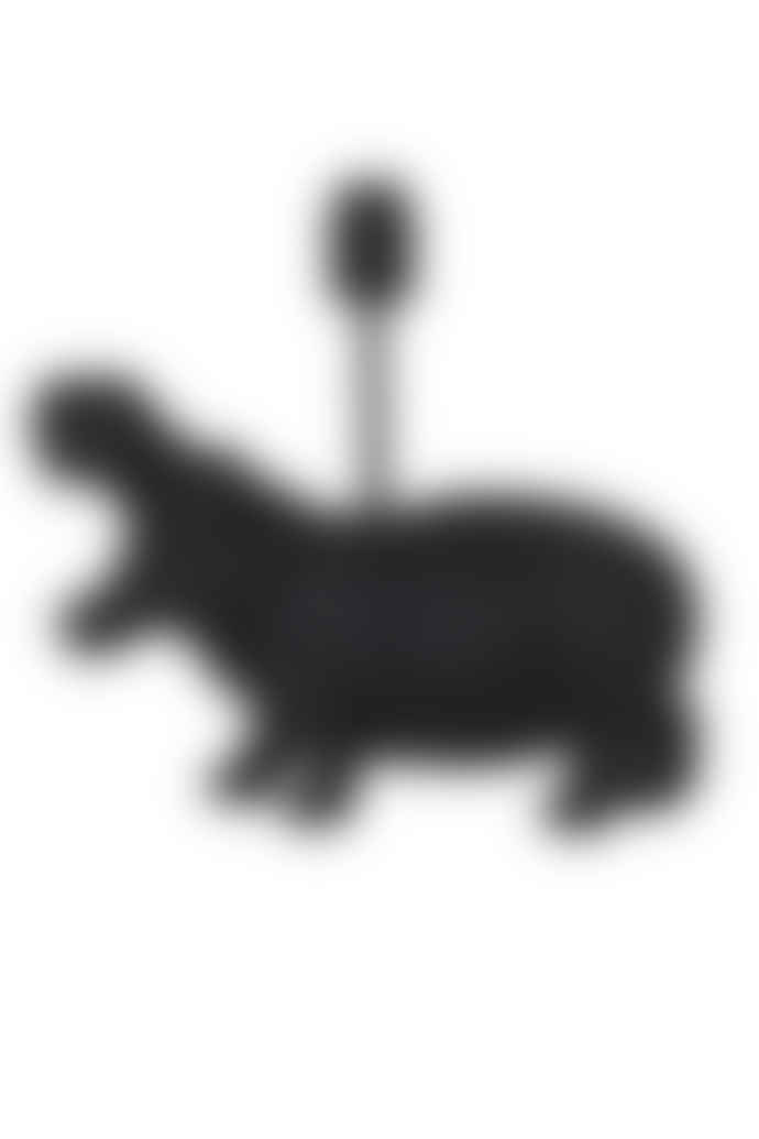 Light & Living Black Hippo Table Lamp - Large