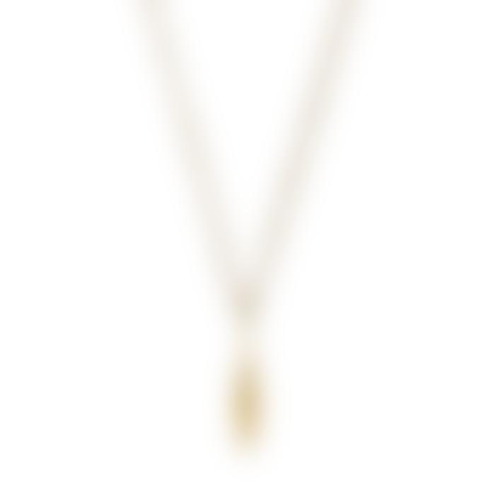 Ting Goods Flat Rhomb Necklace