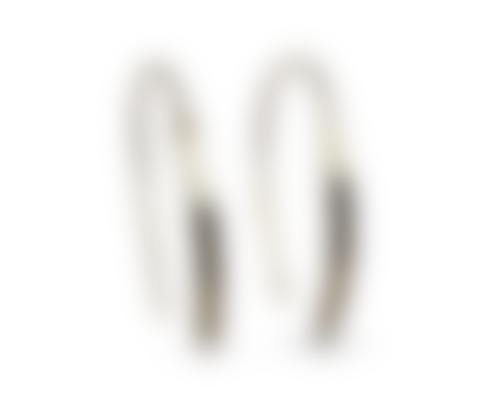 Ting Goods Dent Earrings Brass
