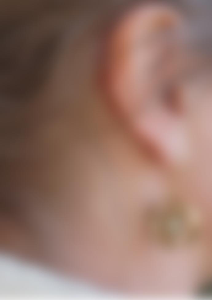 Ting Goods Solar Earrings Brass