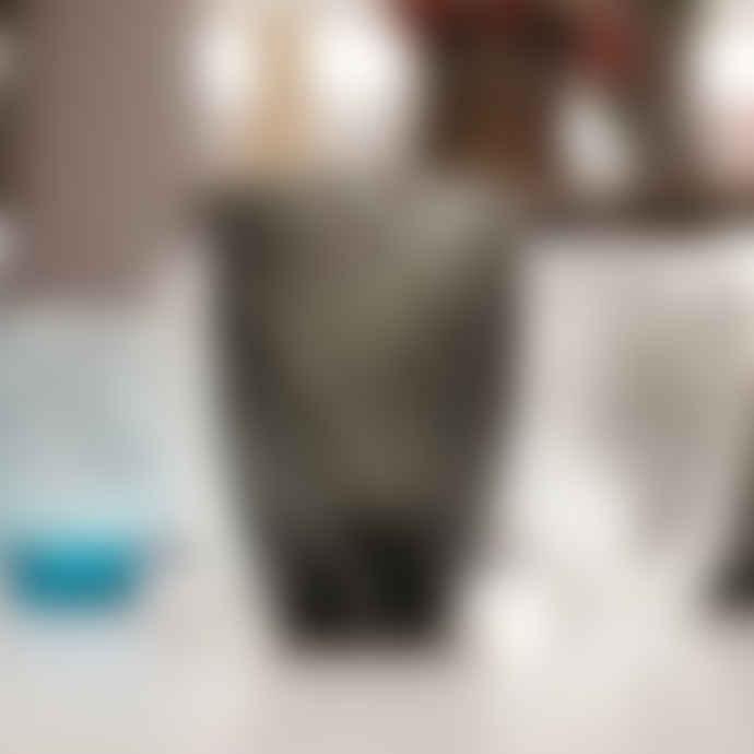 Italesse Vertigo Handcrafted Glass Tumbler Amber White