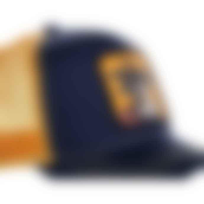 Capslab Trucker Cap Dragon Ball Z Goku Navy & Orange