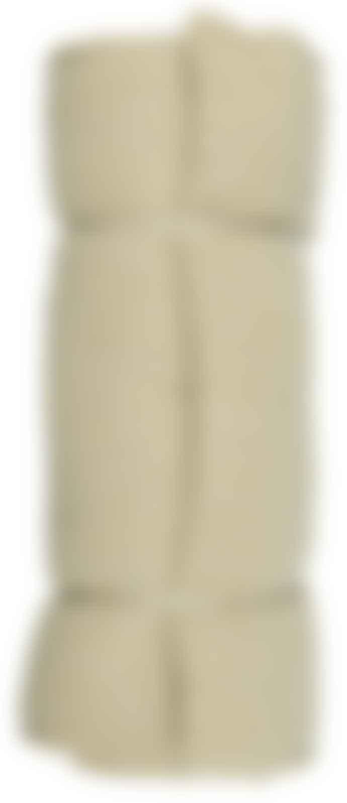Ib Laursen Yellow and Cream Striped Woven Cushion Mattress
