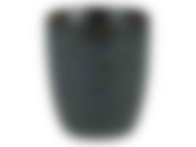 bitz Cup without Handle 0.10cl for Coffee Mottled in Black