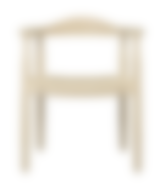 Olsson & Jensen Chair with Armrests 64x49xh 76/45 cm in Wood and Seat in Rope