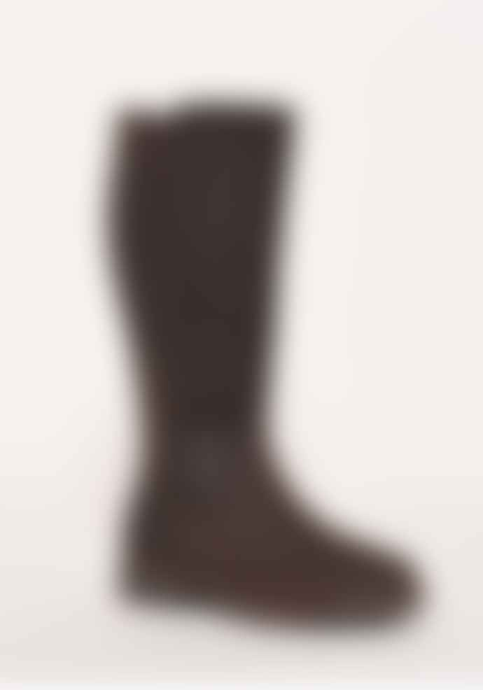 Trouva: Brown Leather Country Tall Boots