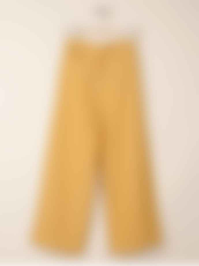 Indi & Cold Linen Crop Trousers