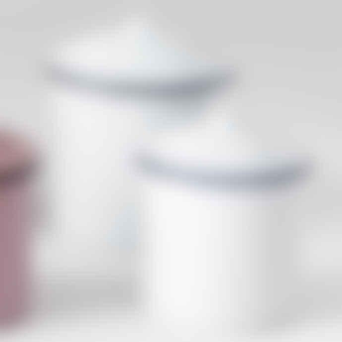 Companhia Da Casa 10cm White Enamel Pot