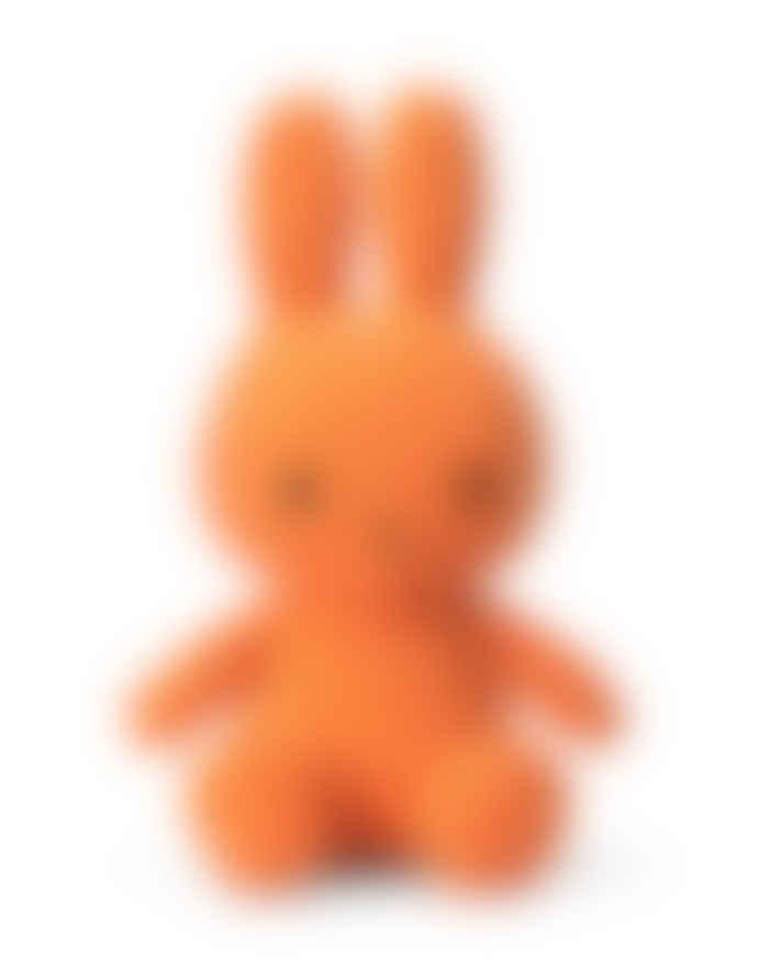 Miffy 33cm Orange Sitting Corduroy Cuddly Toy