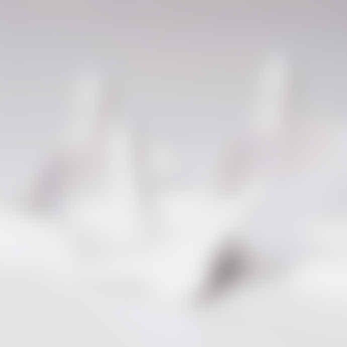 Thomas Poganitsch Design Flock of 8 Birds Made of Ceramic Wall Decoration in White
