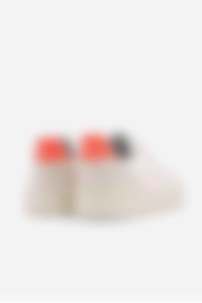 Veja V 10 White Fluo Orange Petal B Mesh Womens Trainer