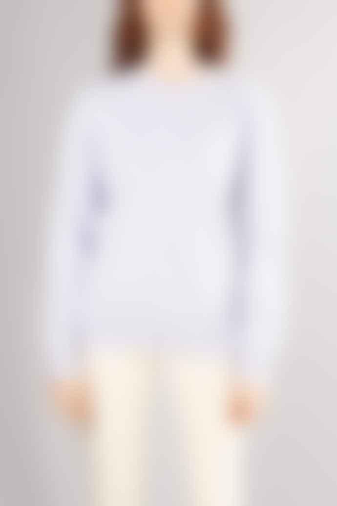 Colorful Standard Soft Lavender Classic Womens Organic Crewneck Sweater