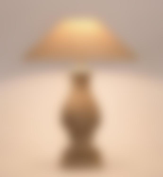 Frezoli Gali Stone Table Lamp Old White