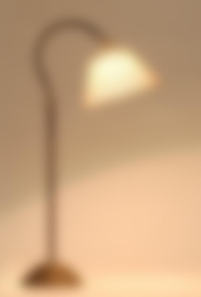 Frezoli Delphi Adjustable Desk Light Fabric Shade