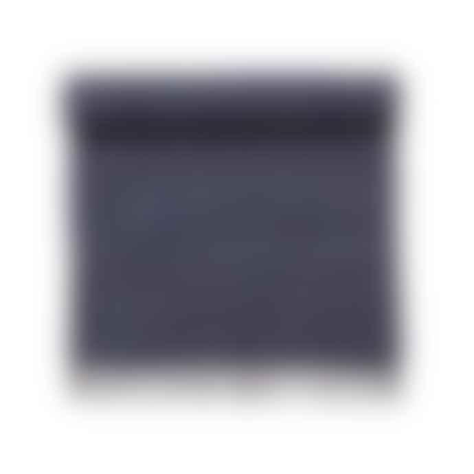 Bungalow DK Cotton Chindi Rug - Navy Blue