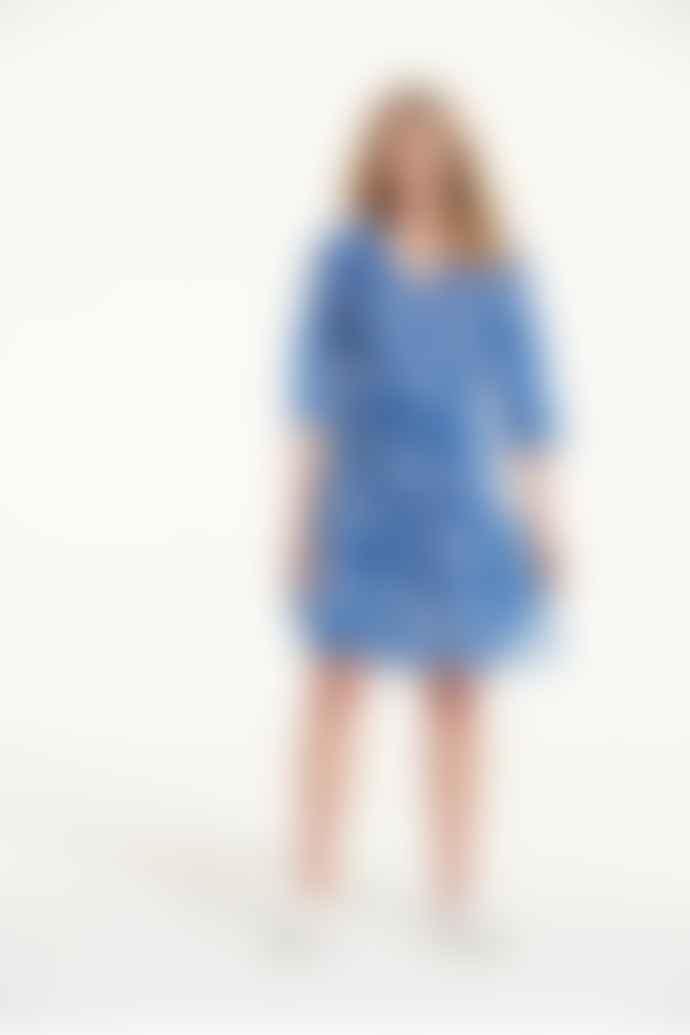 One Season Poppy Middy Dress In Lemnos Blue