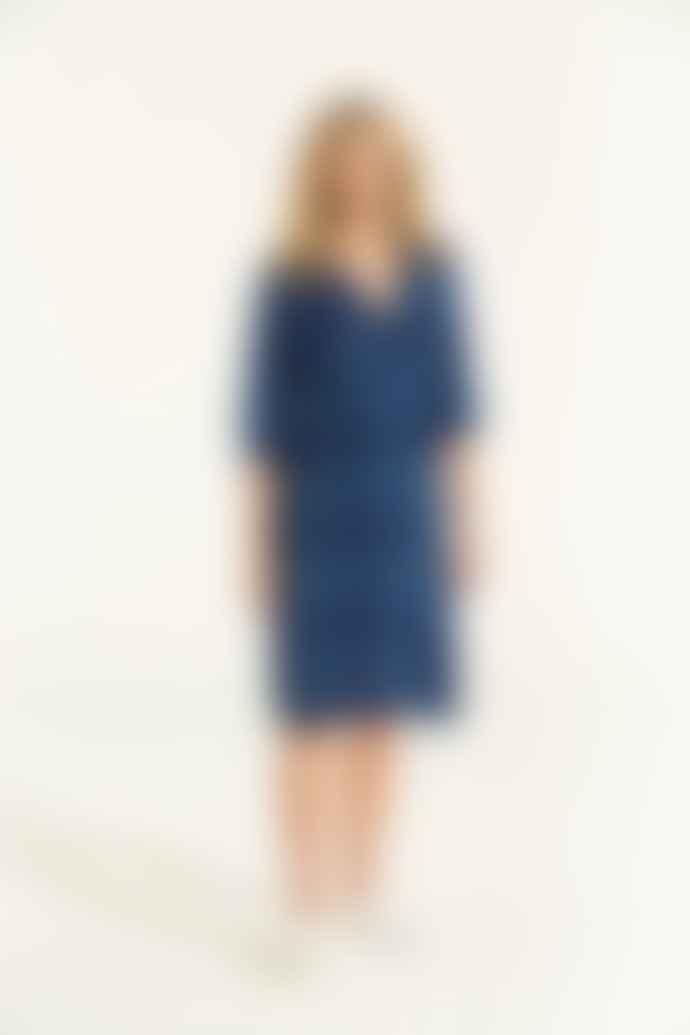 One Season Maldives Blue Jazz Dress
