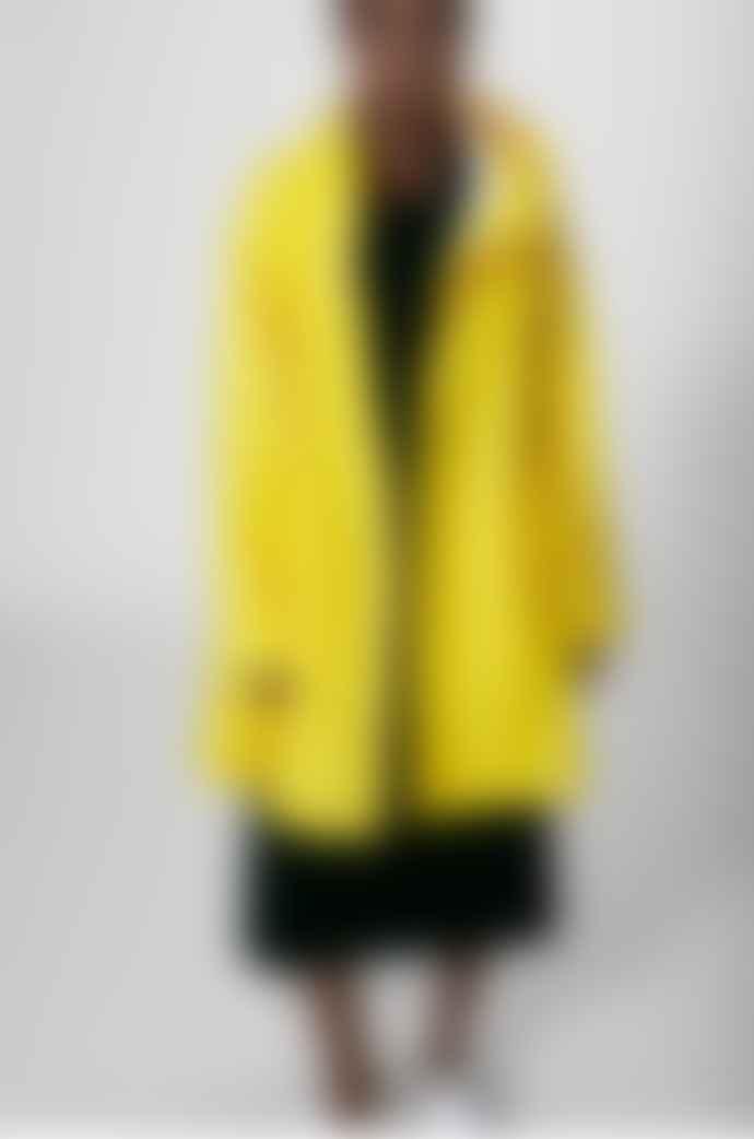 Stutterheim Mosebacke Yellow Womens Raincoat