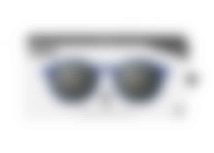 IZIPIZI Izipizi Sunglasses Model D in Navy Blue