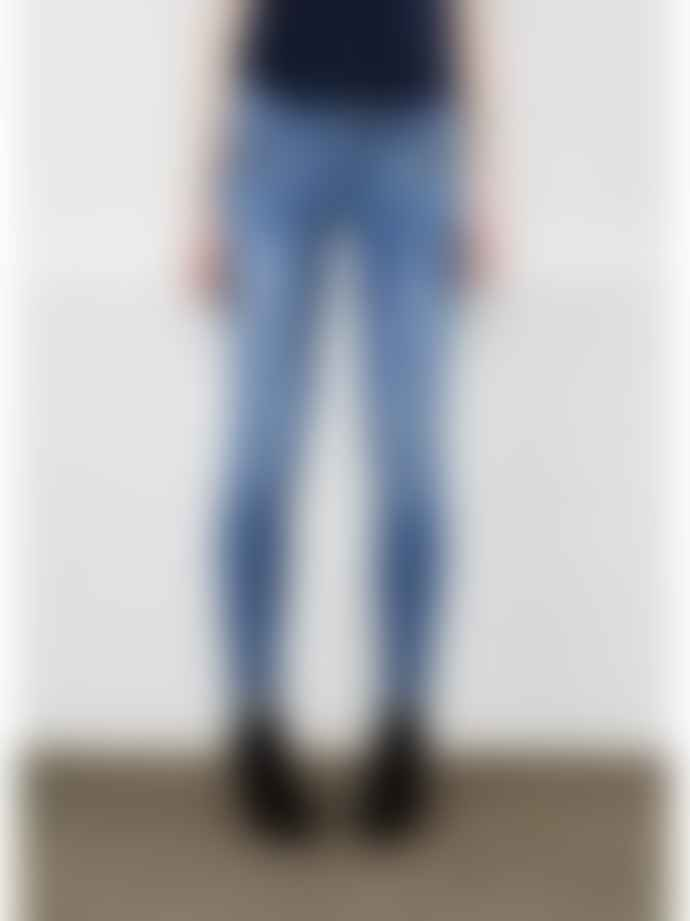 Twist & Tango Sid Ankle Jeans In Mid Blue Denim