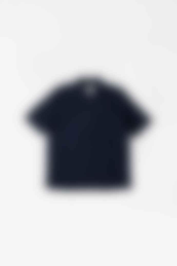 Margaret Howell Zip Fly Shirt Cotton Linen Ink