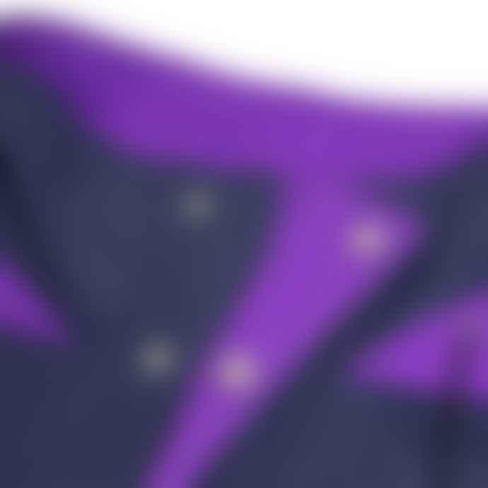 Hikerdelic Dojo Smock Jacket Navy Purple