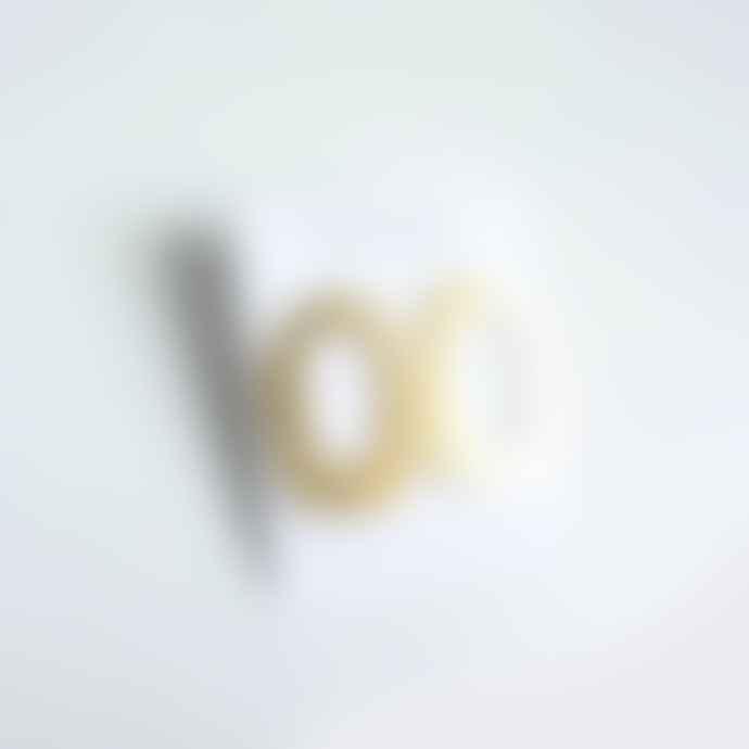lima-lima Golda Brass Stud Earrings