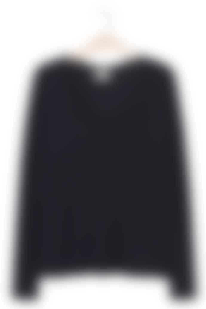 American Vintage Black Long Sleeve Jacksonville T Shirt