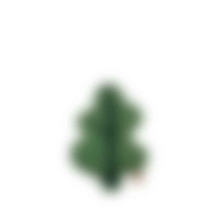 Donna Wilson Mini Greent Leaf Shaped Cushion