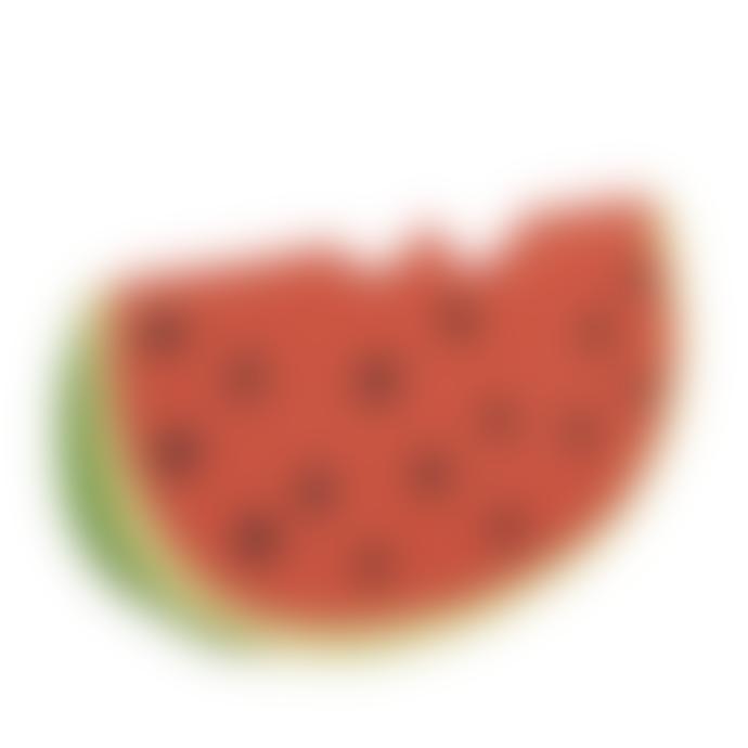 Oli & Carol Fruit & Veggie Teether Toy Wally the Watermelon