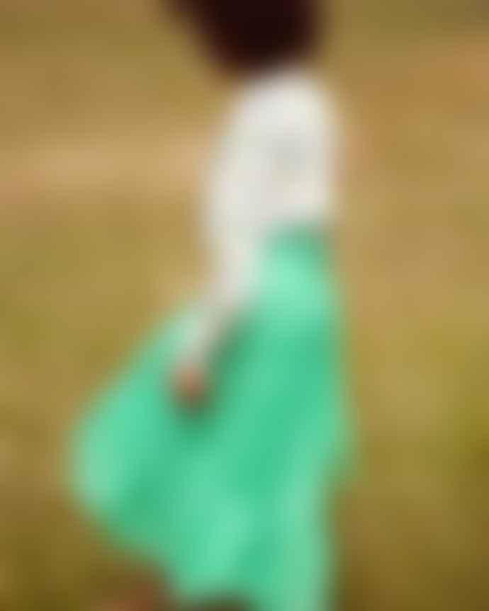 Primrose Park Simi Skirt Green Tiger