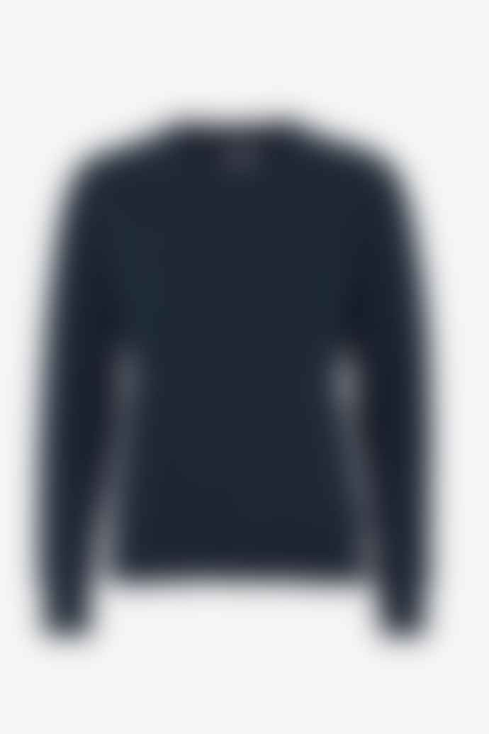 Colorful Standard Womens Navy Blue Sweatshirt