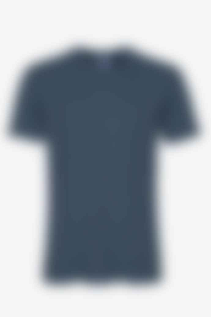 Colorful Standard Mens Petrol Blue T Shirt