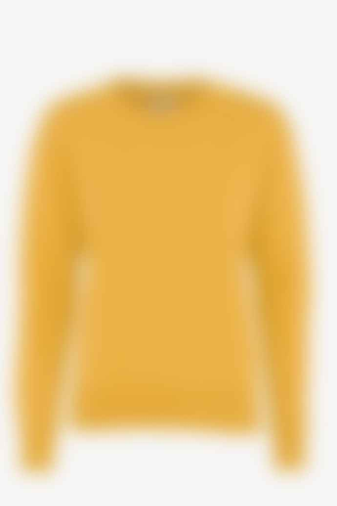 Colorful Standard Womens Burned Yellow Sweatshirt
