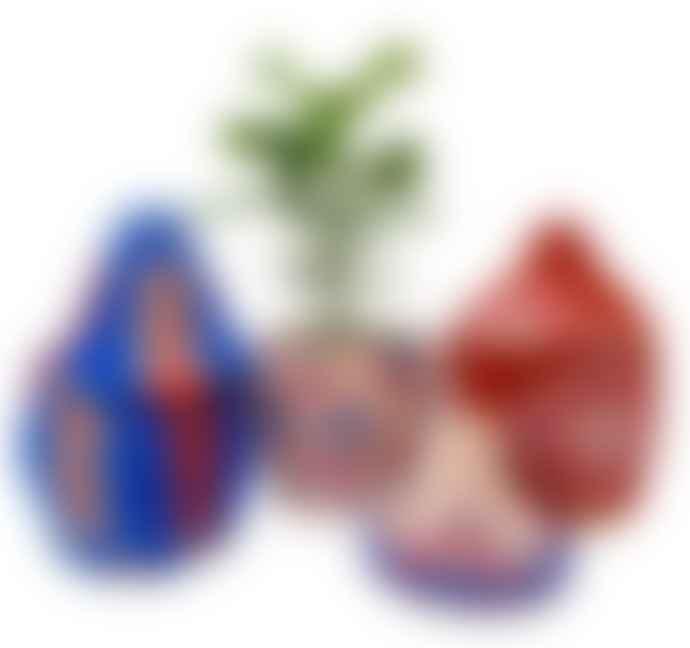 escape Berber Baskets Blue, Red & Pink Combo