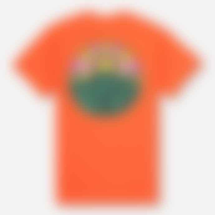 Hikerdelic Original Logo T Shirt Orange